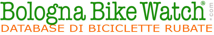 BOLOGNA BIKE WATCH®  Registro di Bici Rubate a Bologna