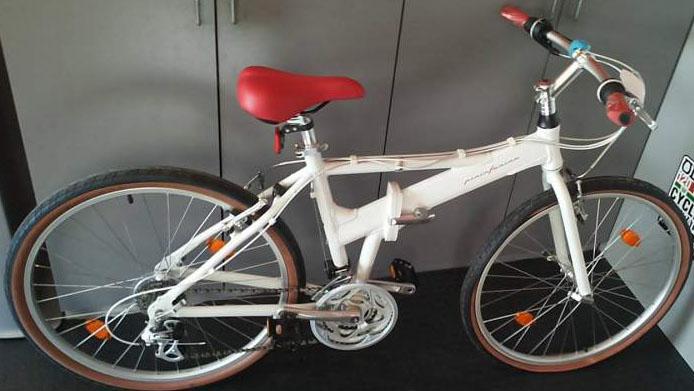 Bici Pininfarina Pieghevole Bianca.Bici Rubata 2015 05 15 Pieghevole Pininfarina Id 1609112300